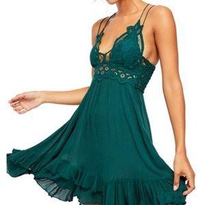 Adella Mini Slip, Green